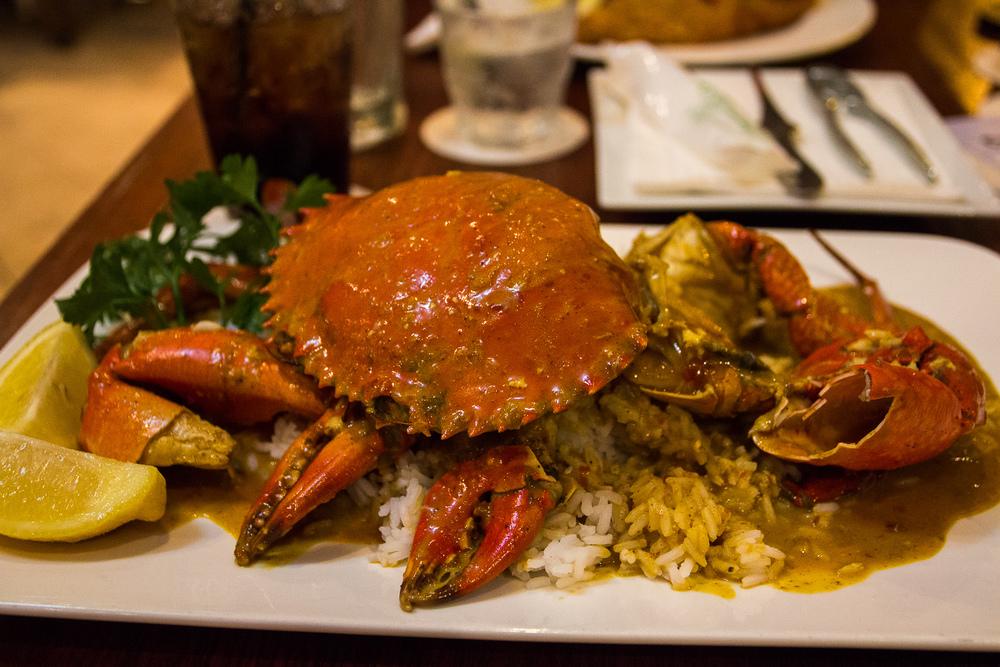 Mud crab met Thai Chilli