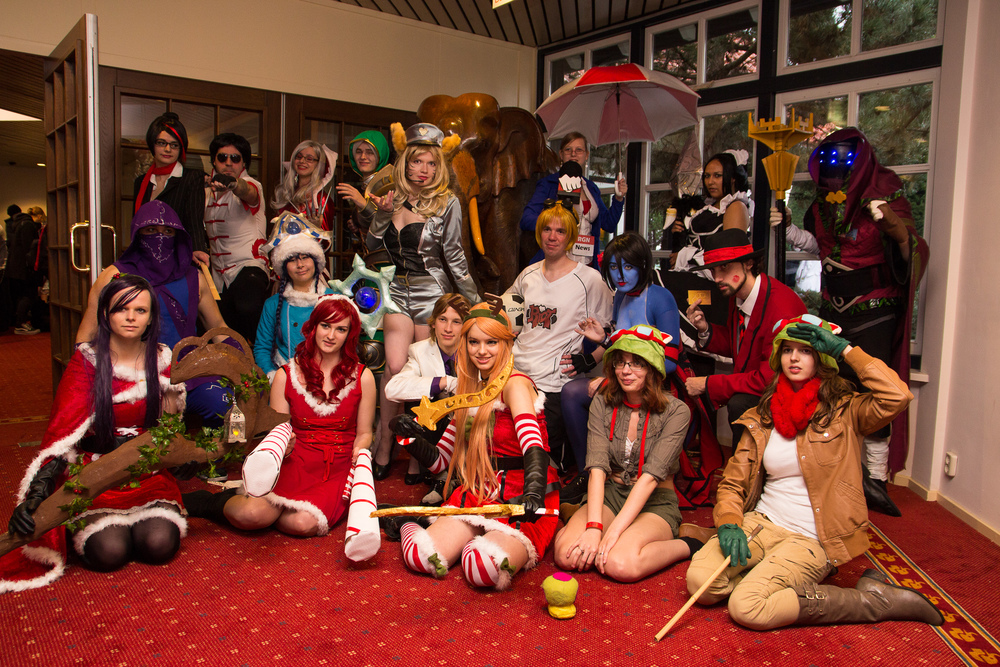 Dutch League of Legends Cosplayers
