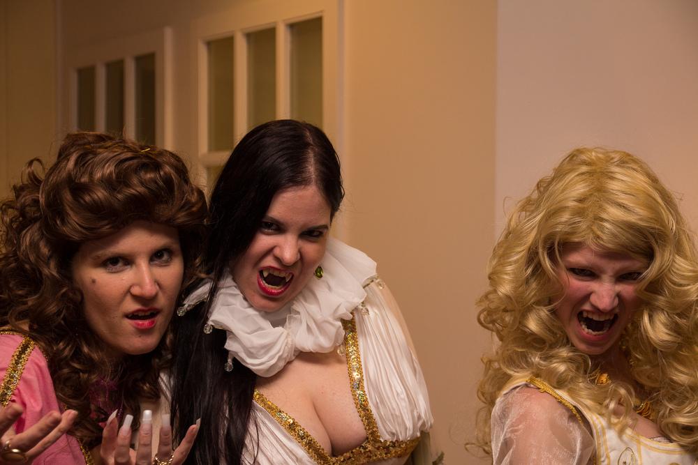 de Vampire brides uit van Helsing