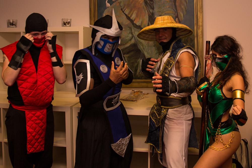 Mortal Kombat Sub Zero by  Soeredj , Raiden by  Hakan , Jade by  Ashvini