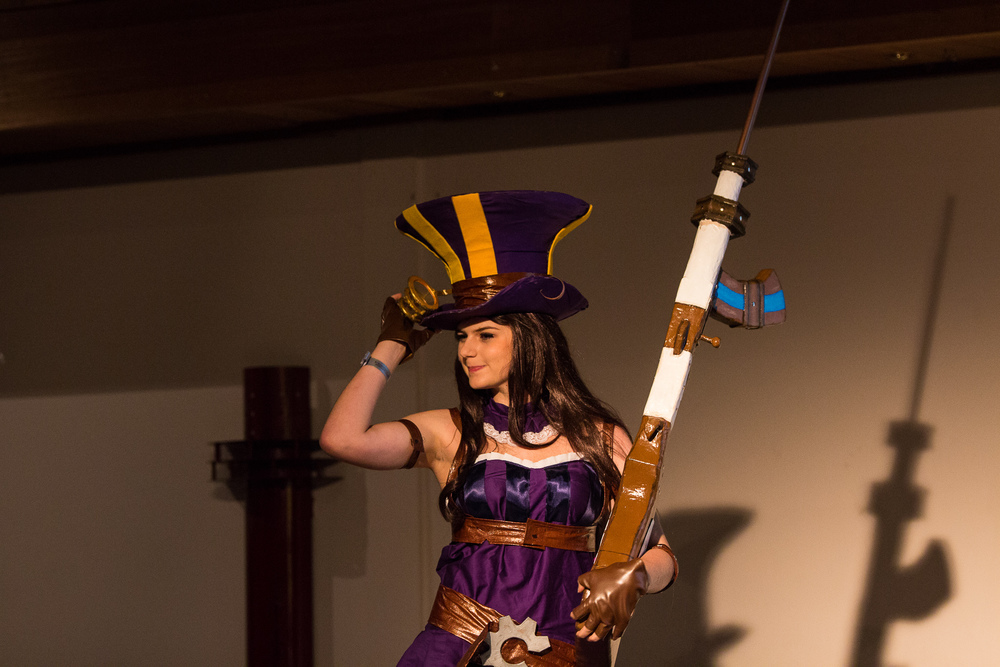 Caitlyn uit League of Legends by Sanne