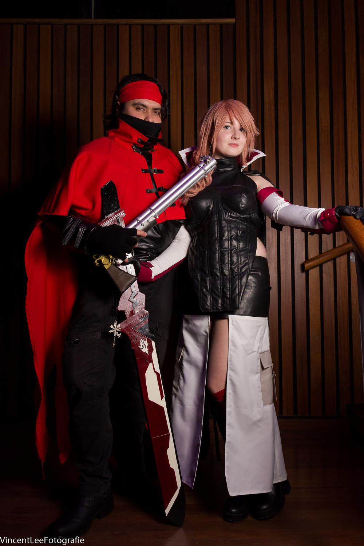 of wat dacht je van een goede foto van jezelf als bezoeker met dit duo?  Dzerena's cosplay corner