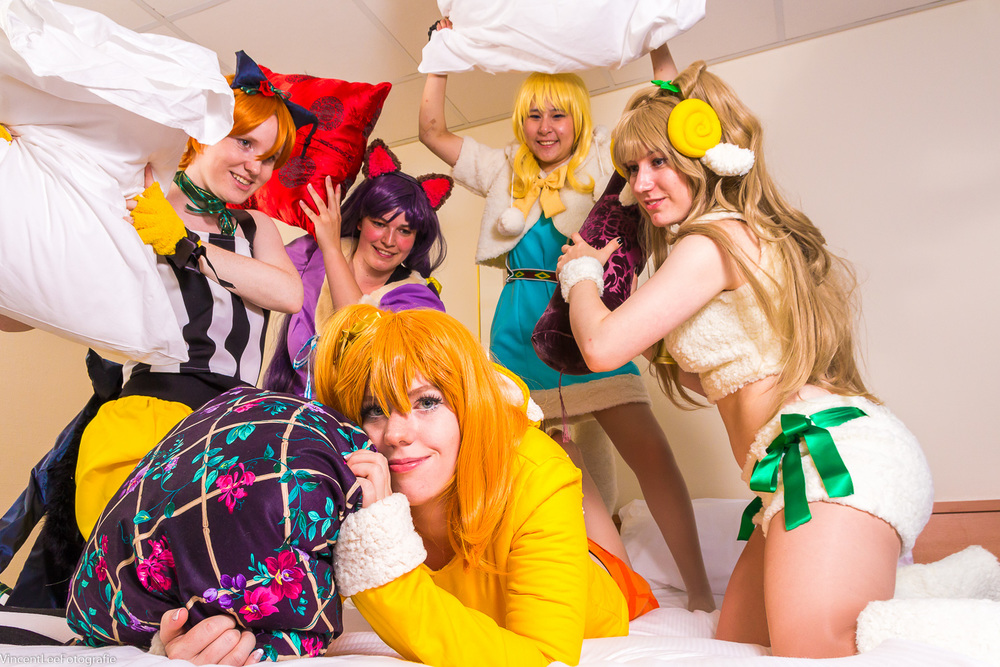 Love Live shoot op Hotelkamer
