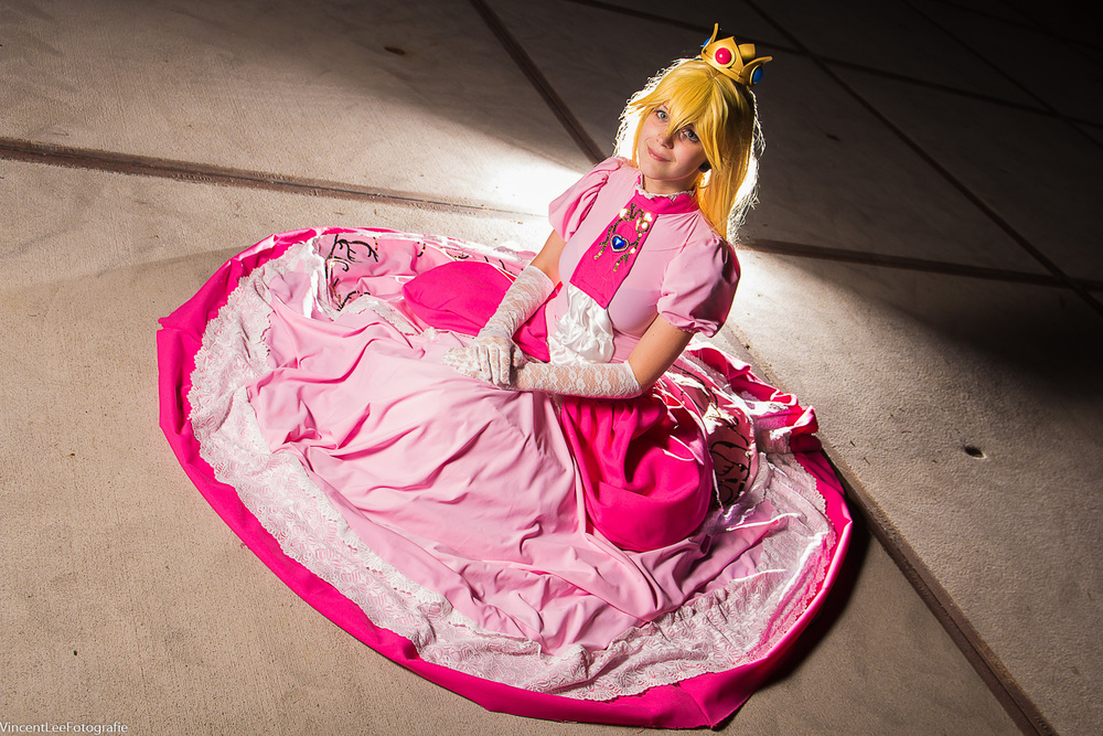 Princess Peach by  Solaria Cosplay