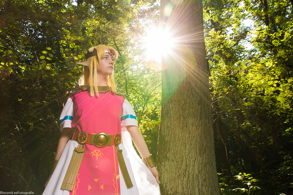 Dalinxdust cosplay  as Zelda