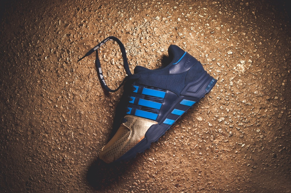 The Ronnie Fieg x Adidas Consortium EQT Support 93 will drop exclusively in-store and online at KITH NYC on Saturday, October 11th at 11am for $170 retail