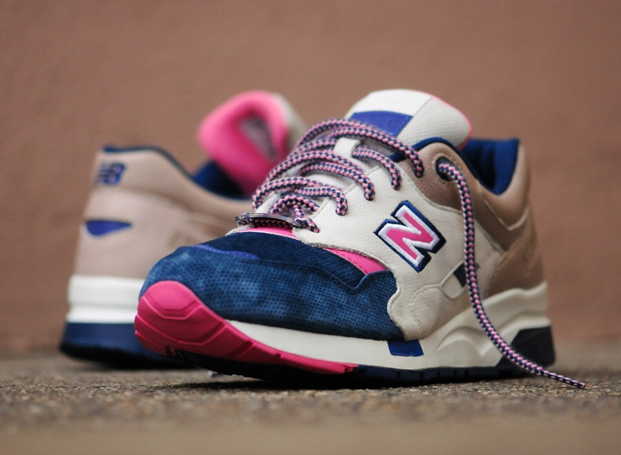 "Last year's Black Friday release from Ronnie Fieg and the Kith team, the RF x NB 1600 ""Daytona""."