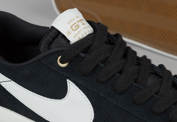 Two make-ups of the Nike SB Blazer Low GT drop tomorrow, November 22nd in-store at select Nike SB retailers and online.