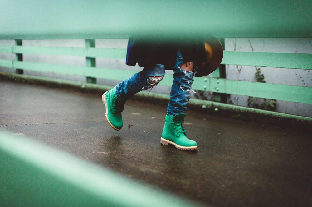 "The Villa x Timberland ""Emerald"" 6 Inch Classic will be available exclusively at Villa retail locations and online at www.ruvilla.com on February 7th."