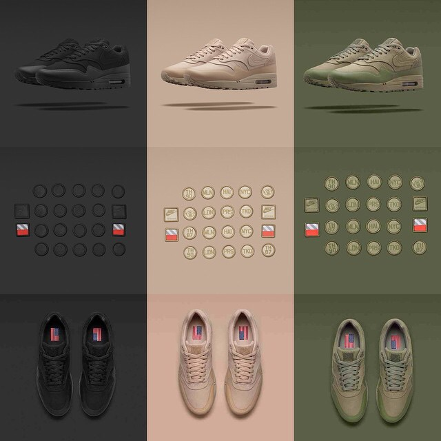 NIkeLab unveiled the Patch concept when they rolled out the Army Inspired, Air Max 1 Patch Pack.