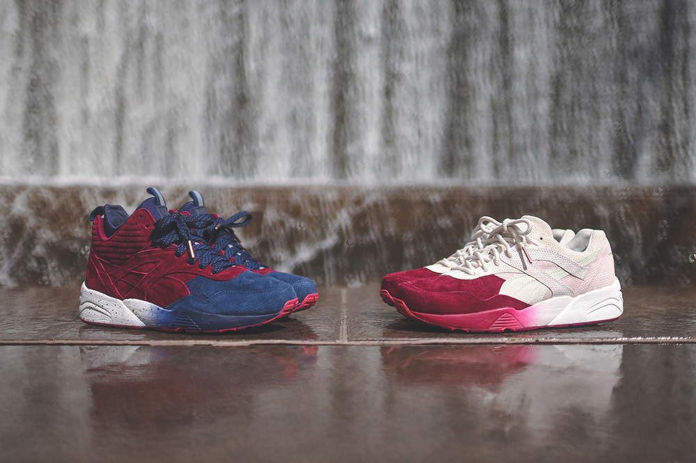 A look at the Ronnie Fieg x Puma Tokyo Sakura Project, which is comprised of the classic R698 Low, and a new take on R698, with the R698 Mid.