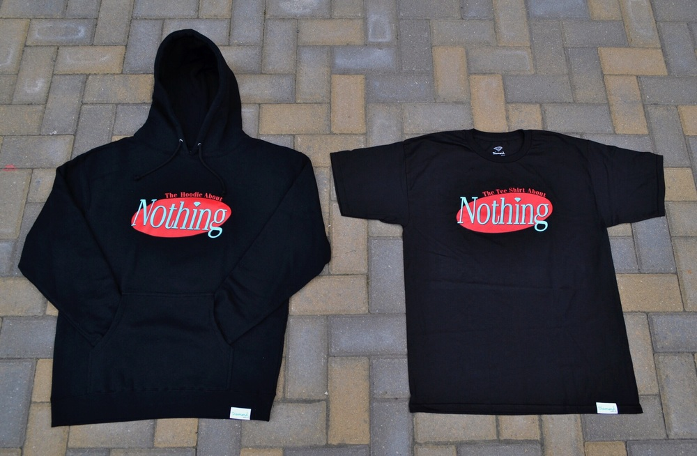 The Wale x Diamond Capsule which includes The Hoodie About Nothing, and the Tee Shirt About Nothing.