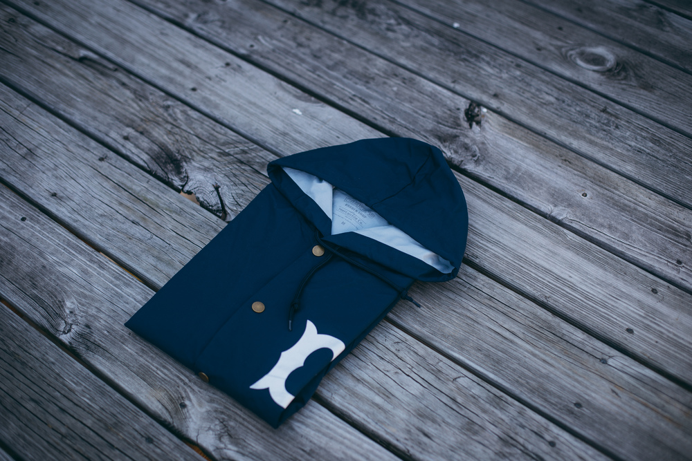 Navy/White Front Detail