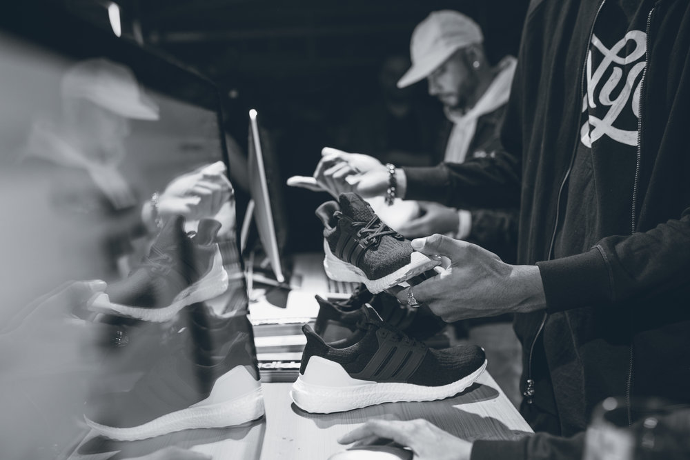 A photo from my recent trip to the #miadidas Custom Studio located in the 5th Ave NYC location.