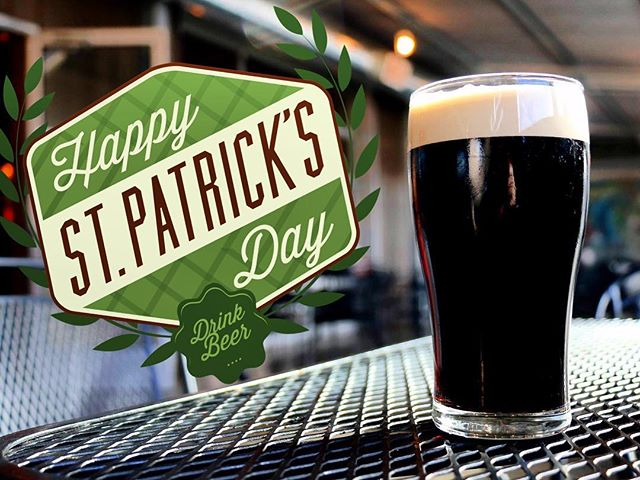 Let us pour you a Perrin Irish Stout today! ☘️🍻 #happystpatricksday #irishstout