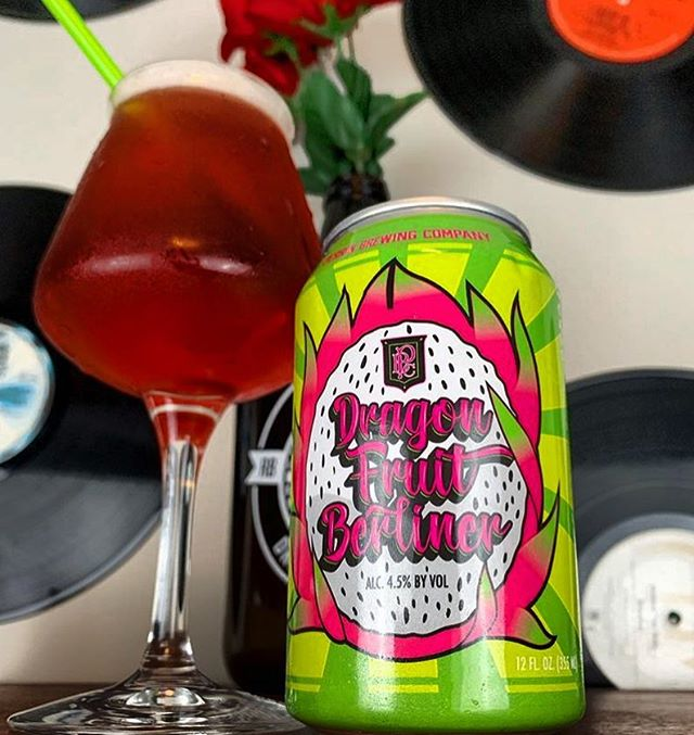 It's officially Spring! Time to crack open those Session Sours 📸: @theecraftbeerconnoisseur #springequinox #firstdayofspring #sourbeer #dragonfruit #berliner