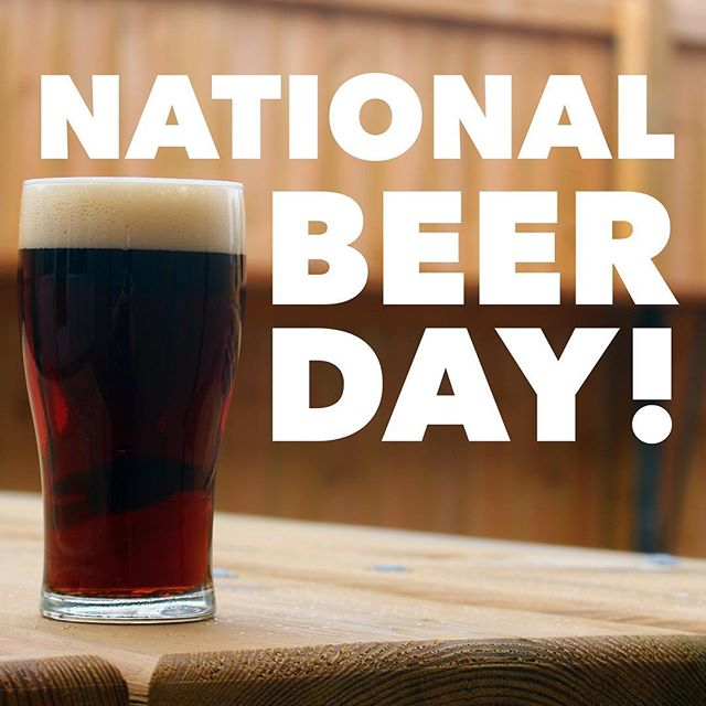 We'll take any excuse to have another beer, what are you celebrating with? #nationalbeerday #beerday #sundayfunday