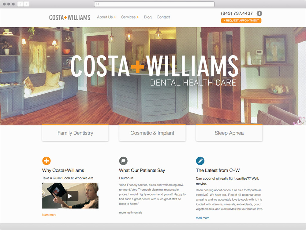 Costa+Williams - visit site
