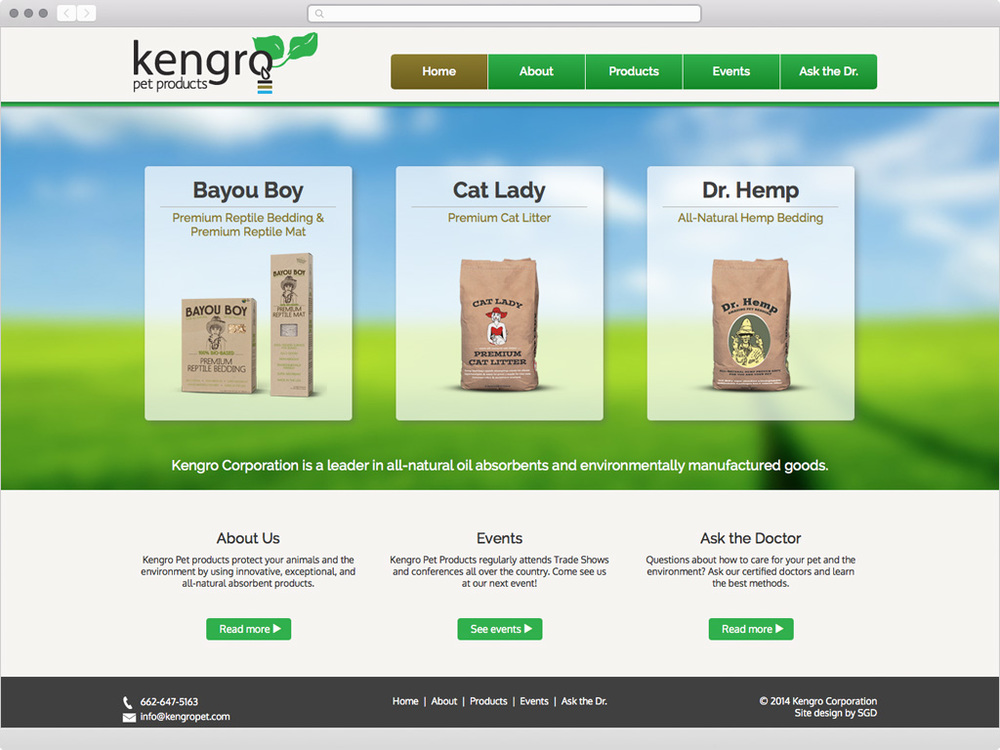 Kengro Pet Products - visit site