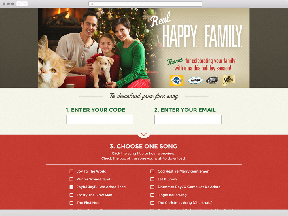 Pedigree Holiday Music Download