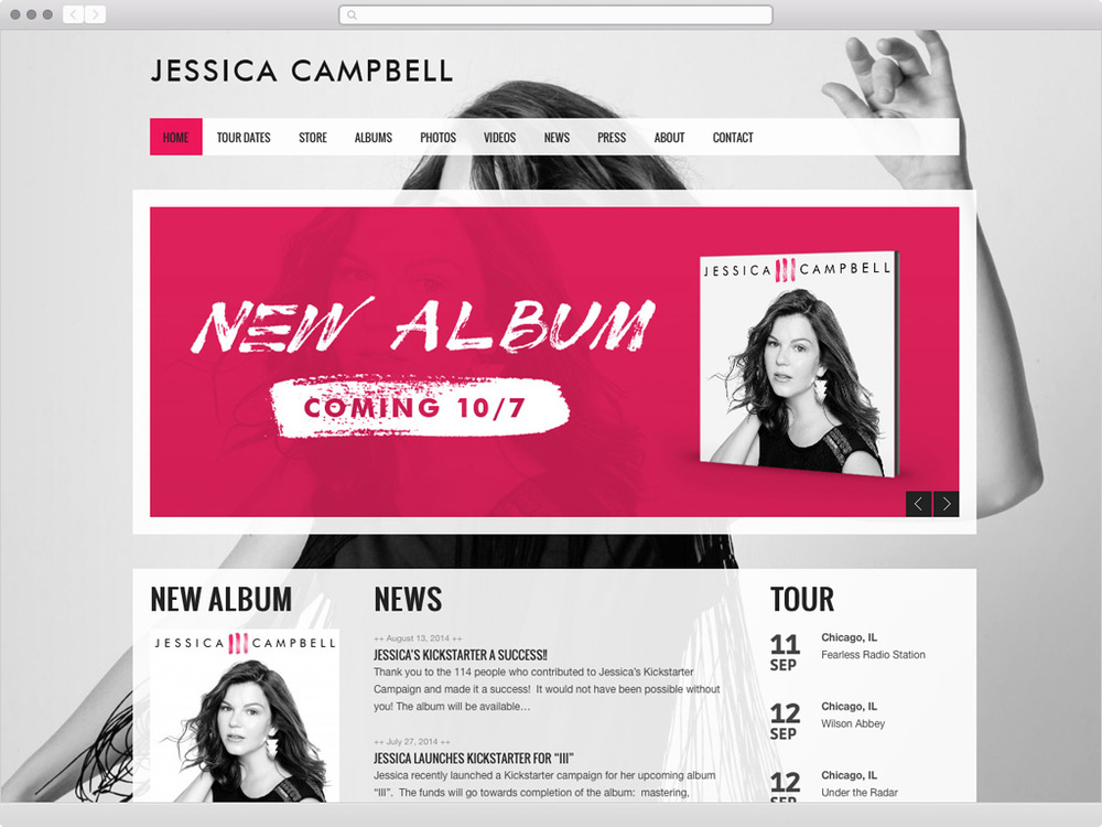 Jessica Campbell Music - visit site