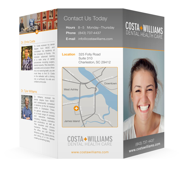 Costa + WIlliams brochure