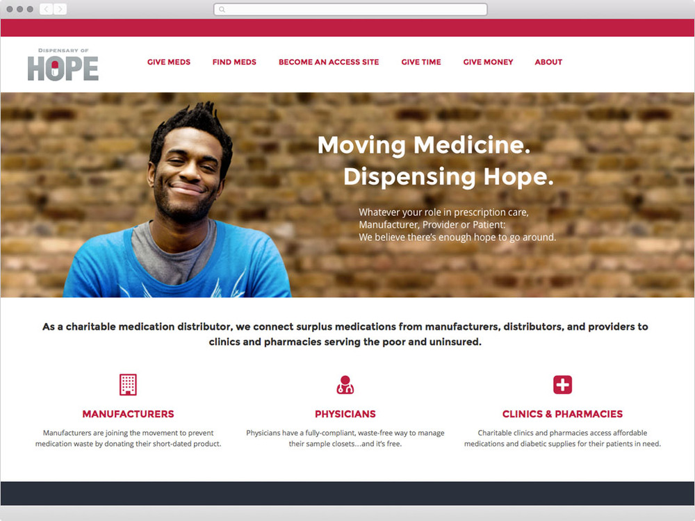 Dispensary of Hope - visit site