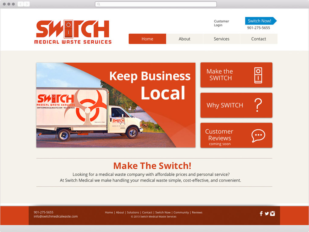 Switch Medical Waste Services - visit site