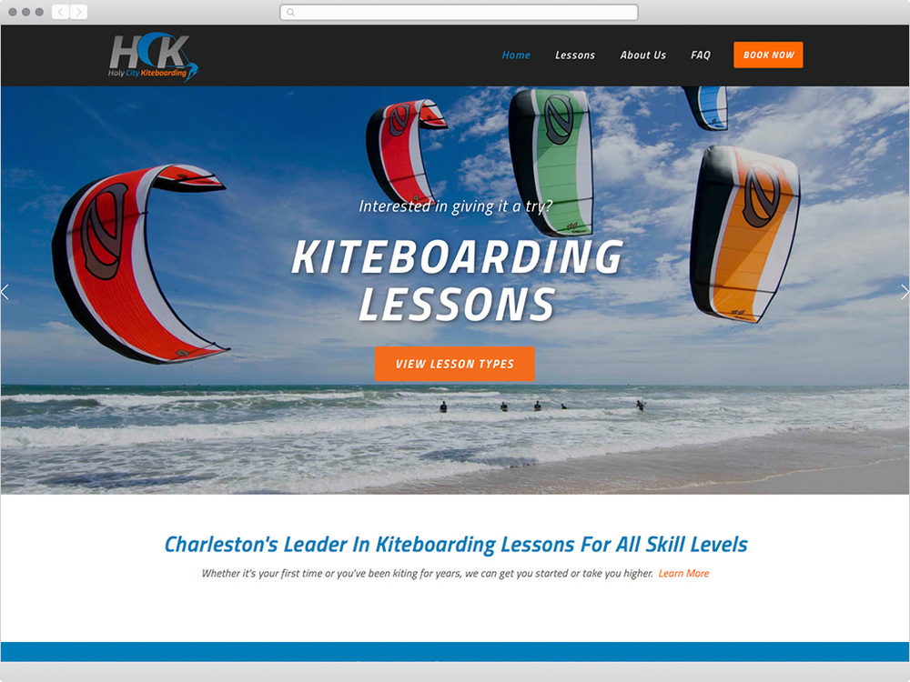 Holy City Kiteboarding - visit site