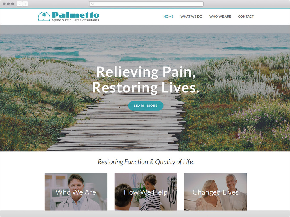 Palmetto Spine & Pain Care - visit site