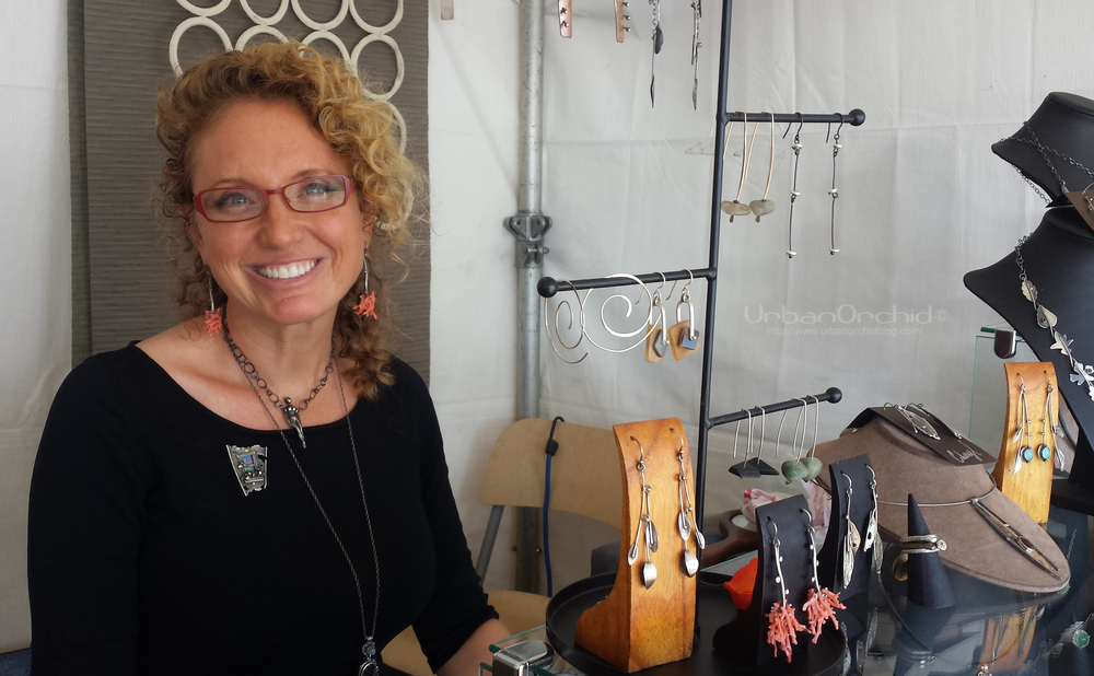 Artist and jewelry designer Cheryl Shohet.