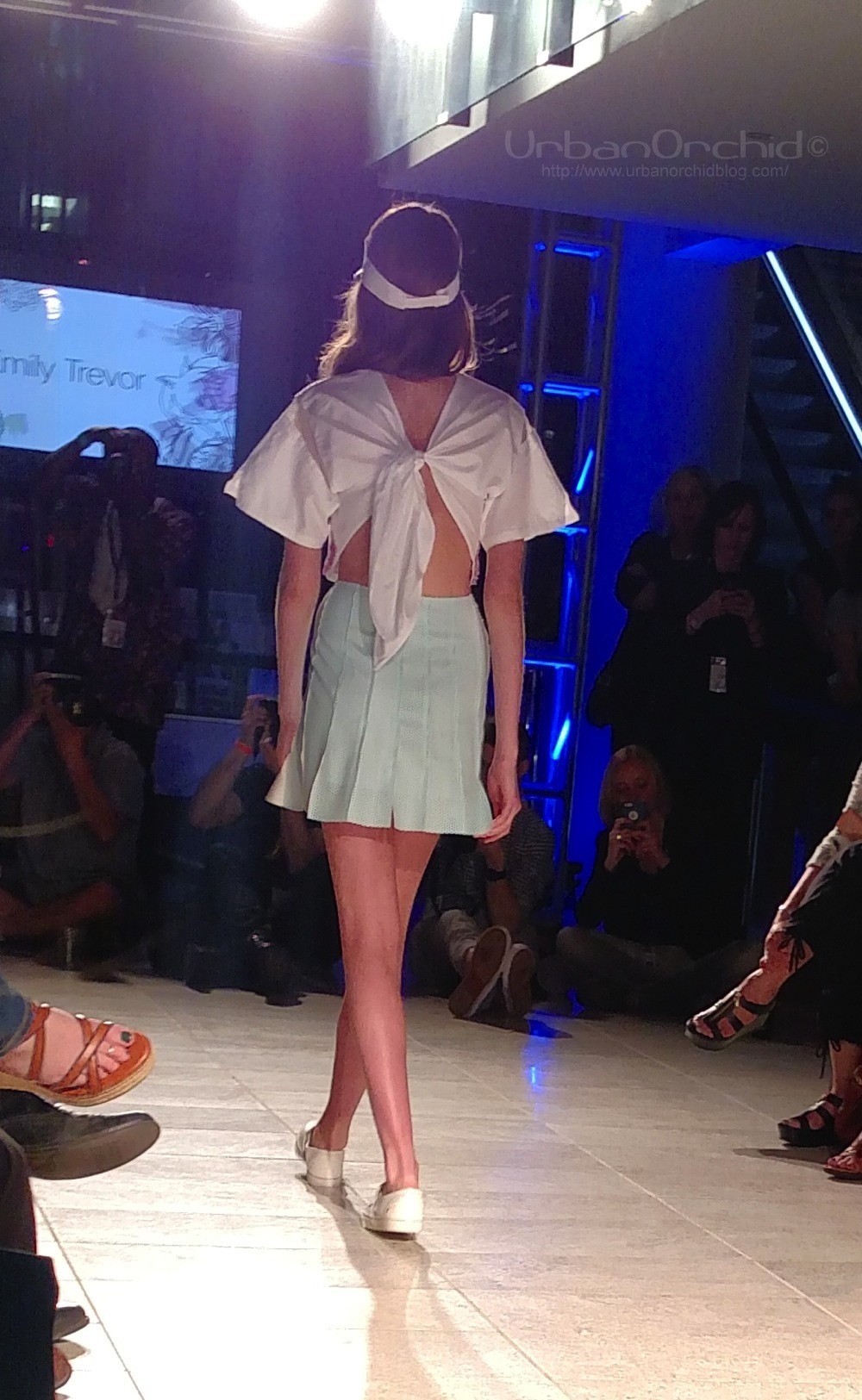 Look by Emily Trevor. I absolutely adore the twist/bow back.