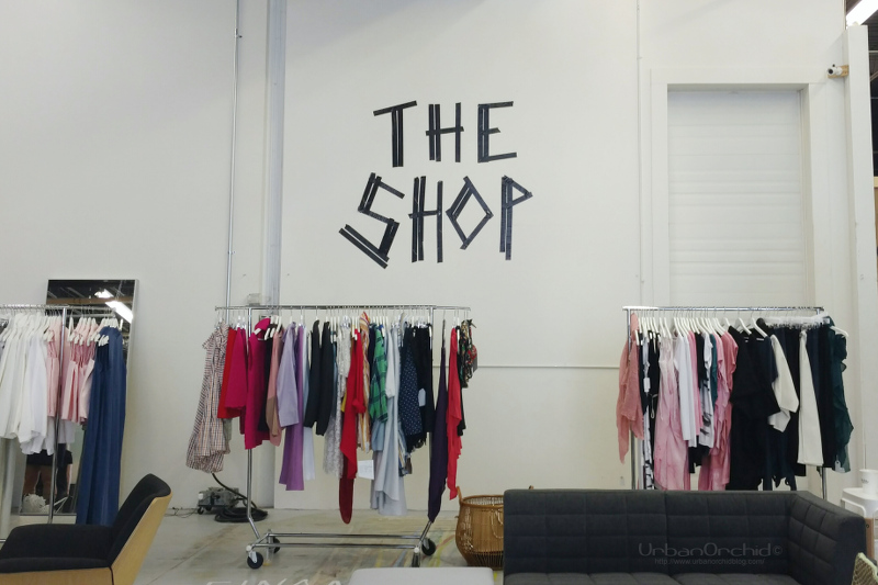 The Shop provided a way to shop local designers while at The Shoot event.