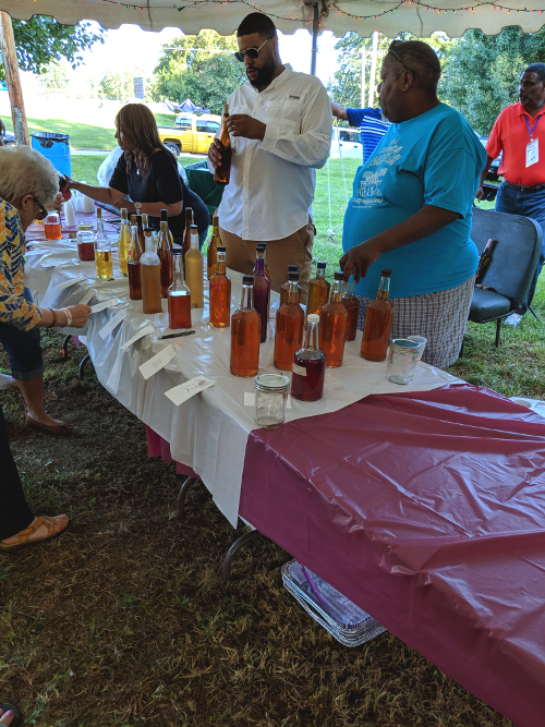Wine Tasting and Contest at Buttermilk Days 2018