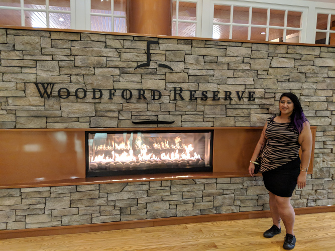 Inside the Woodford Reserve Visitor Center