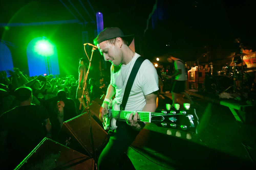 Performing at  Fest  in Florida with  No Trigger  // Courtesy of : Patrick J. Stefano