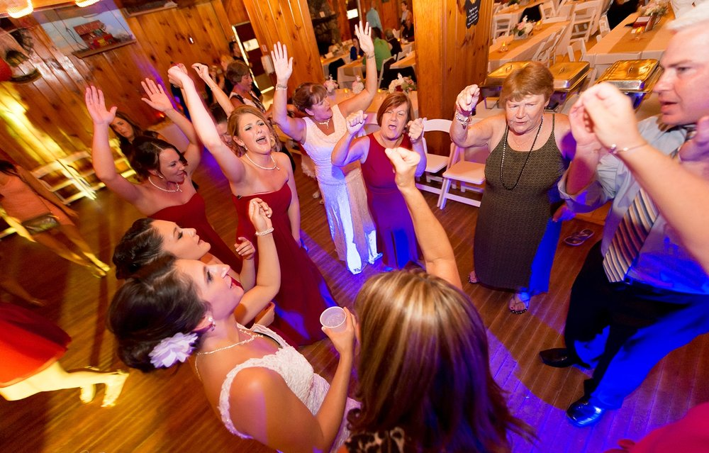 Courtesy of :  Artifact Images Wedding @  Camp Cody Freedom NH