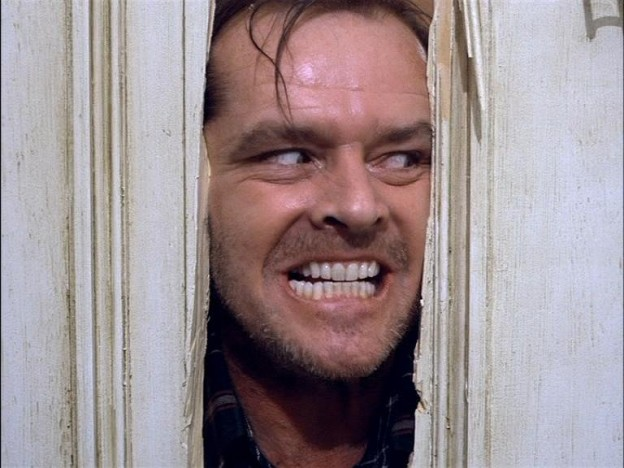 """I'm baaack!"" - The Shining 1980"