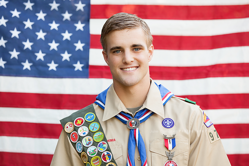 Eagle Scout Portrait
