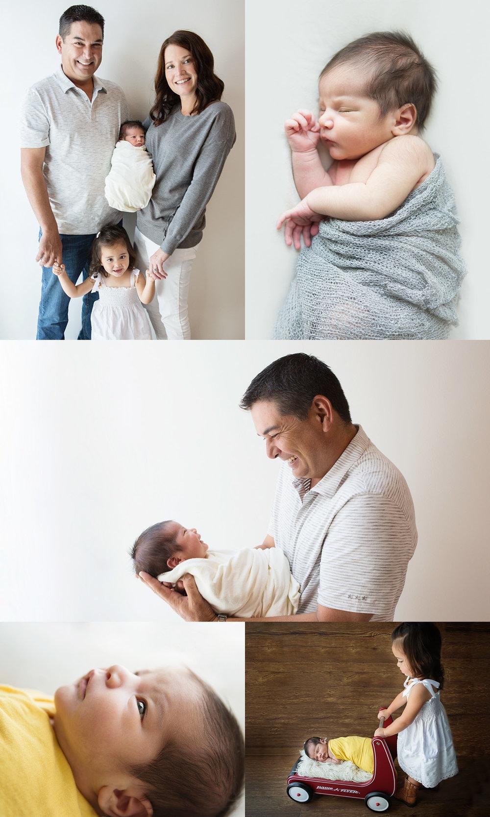 best Westlake village newborn photographer