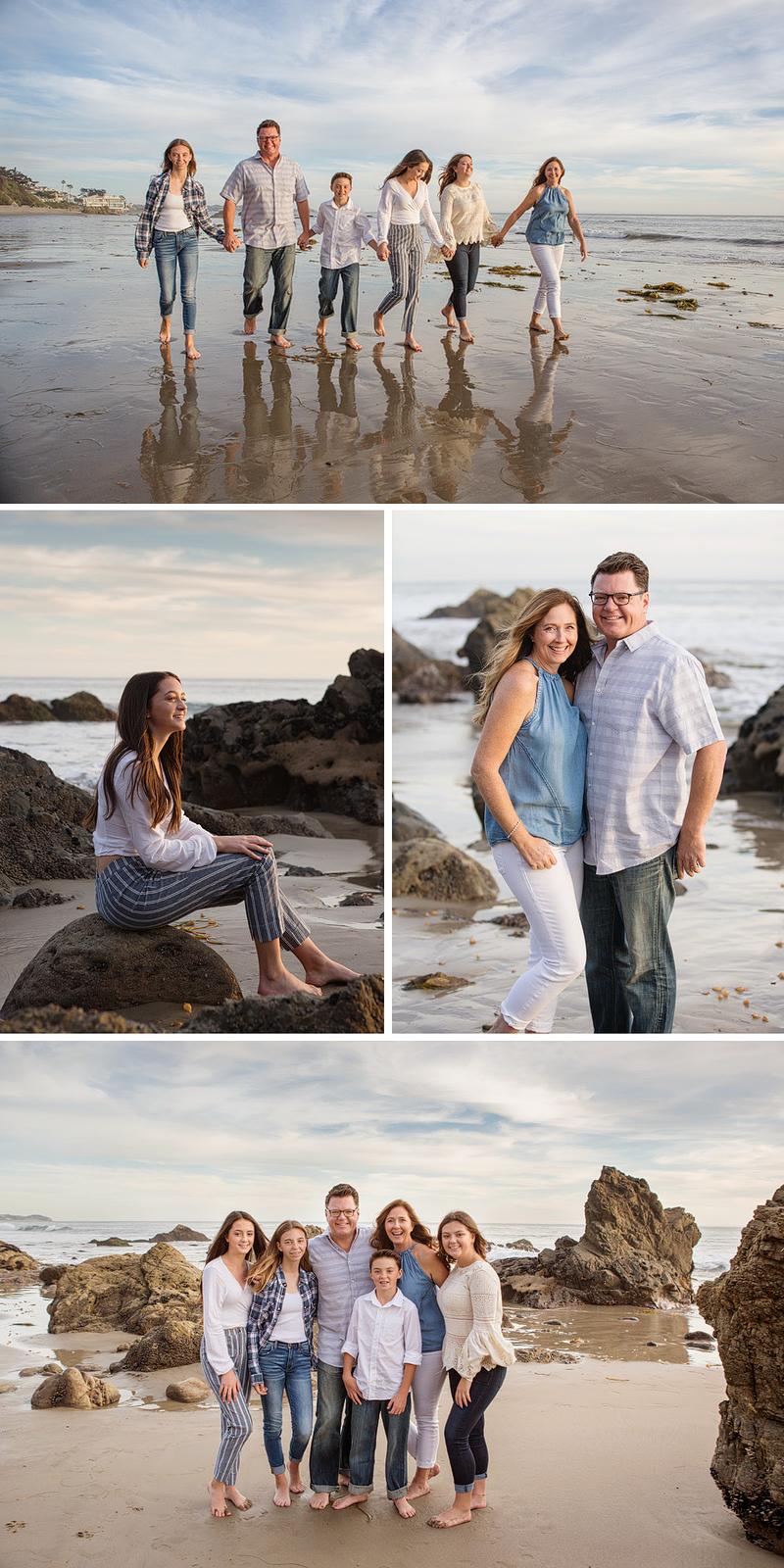 Malibu Beach family Photographer