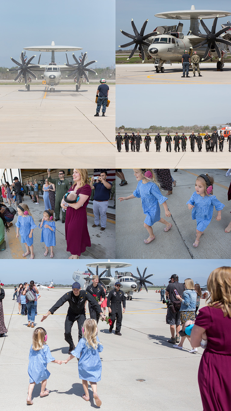 Military Homecoming | Point Mugu