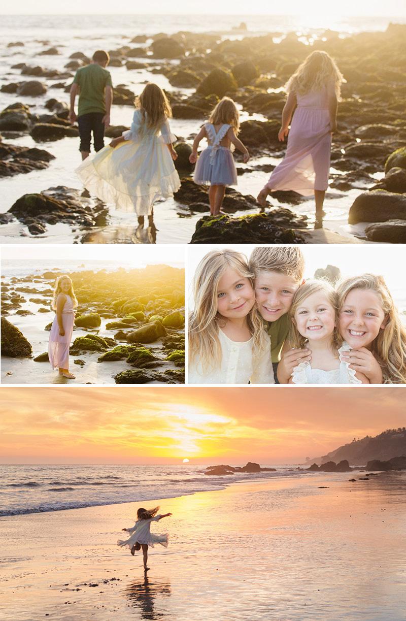family photography beach Ventura County