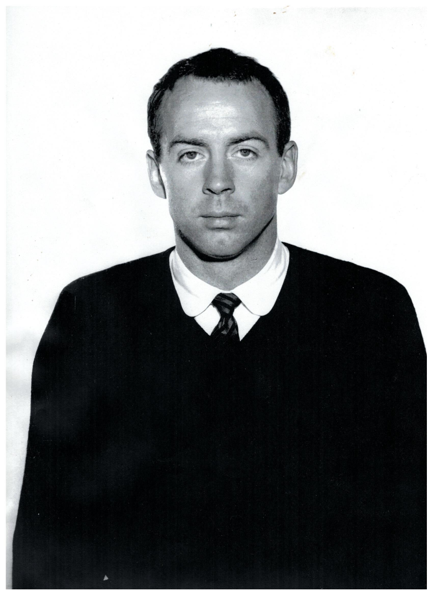 Dr. Norman E. Holland-Hull as a young man
