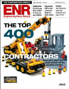 March Associates Construction was featured on the Engineering News Record's Top 400 Contractors list in 2008