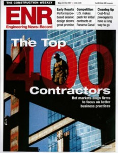 March Associates Construction was featured on the Engineering News Record's Top 400 Contractors list in 2007