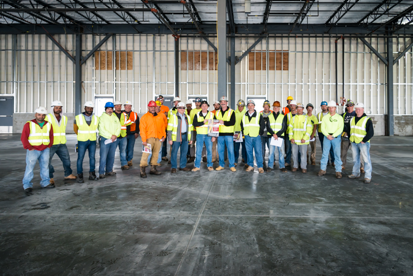 March Safety-OSHA Teterboro workforce at the conclusion of our OSHA National Safety Stand-Down program.