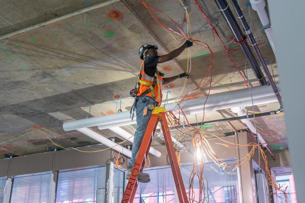 300 Lafayette St Office Costruction Worker