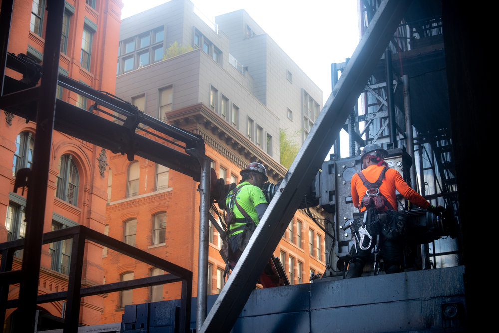 300 Lafayette St Office Construction Workers