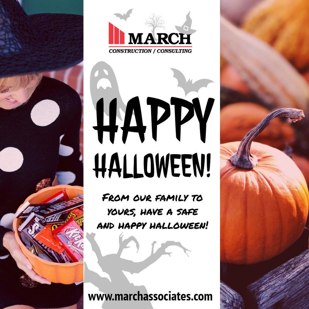 Happy Halloween From March Construction!